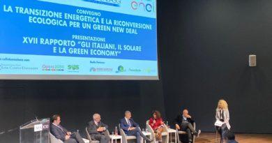 Convegno la Transizione Energetica e la riconversione ecologica per un Green New Deal
